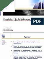 Decreto Ley Contrataciones Publicas