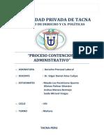 1proceso Contencioso Administrativo Procesal Laboral May