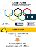 ACTing SPORT! an Acceptance and Commitment Therapy Protocol for Athletes Enea Filimberti, Nicola Maffini, Giovambattista Presti