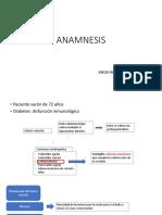 ANAMNESIS Shock Septico