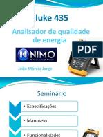 Analisador de Qualidade de Energia Fluke 435