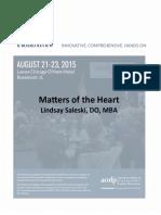 Fri Pm 130 Saleski Lindsay Matters of the Heart