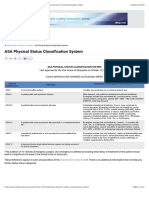 ASA Physical Status Classification System - American Society of Anesthesiologists (ASA)