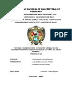 Anális Químico Cualitativo y Cuantitativo 3