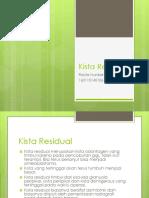 Kista Residual Dan Paradental
