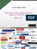 Taller de Capacitación en GIR y CI_Mayo 2015