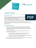 Case Study Practice in Crisis