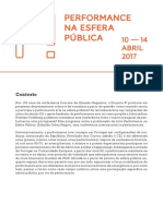PROJECT P Performance in the Public Sphere
