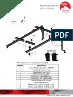 FT - Estructura - Everest - CrossRail Tilt Up - CrossRail Tilt Up Technical Sheet US02-1016