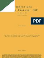 Thesis Proposal OGR