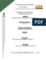 Cuadro Comparativo de herramientas de tecnologias moviles
