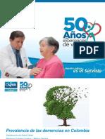 Prevalencia Demencia Colombia