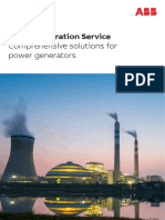 Power Generation Service Brochure 2017