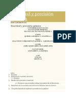 Exactitud y Precisión Química