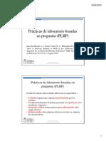 Presentación Del Método Prácticas de Laboratorio Basadas en Preguntas (PLBP)