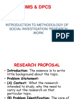 Dms Research Work