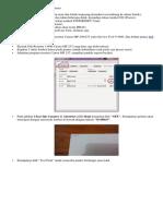 Reset MP230 Eror Kode 1700 Setting Printer Ke Service Mode