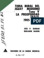 Barran_tomo_5 La Prosperidad Fragil 1905-1914