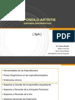 ESPONDILO-ARTRITIS SpAfinal Clase teorica (Circulación Interna)