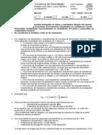 IT213 - LÍNEAS DE TRANSMISIÓN Examen final 2008 2