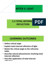 5.3 QUICK REVISION Total Internal Reflection