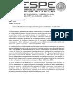 Pasivos ambientales Ecuador