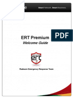 Radware ERT Premium Customer Guide-Welcome
