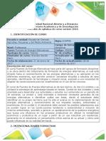 Syllabus Del Curso Fuentes de Energía Alternativas