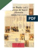 Burke, P. Obertura. La Nueva Historia, Su Pasado y Su Futuro. Formas de Hacer Historia - Burke