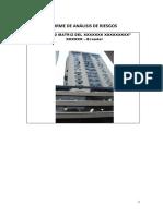ANEXO 6.- Modelo de Informe de Análisis de Riesgos.