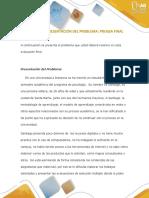 Estudio Problemico Paso 4-Evaluación Final