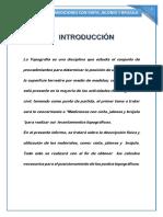 INFORME DE PRACTICA N° 1 - TOPO I