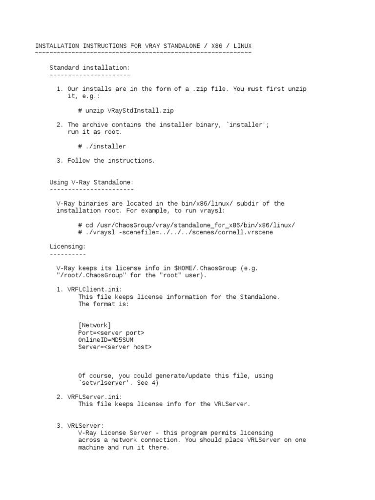 Install Instructions Linux | Installation (Computer Programs) | Linux