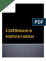 8-QAM Modulación de Amplitud en Cuadratura