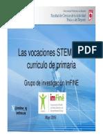 vocaciones STEM curriculo primaria