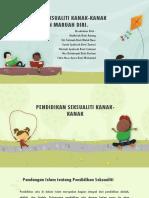 Pendidikan Seksualiti Kanak-kanak Dan Penjagaan Maruah Diri