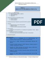 FACTORES Desarrollo Prenatal Tema 1