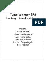 Tugas Kelompok IPS Keluargaaaa
