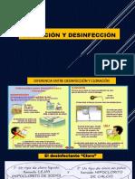 Desinfeccion y Cloracion