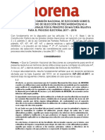 DICTAMEN DE APROBACIÓN DE REGISTRO DIPUTADOS FEDERALES MORENA