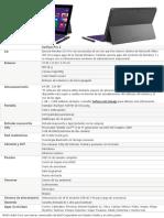 Surface Pro2!64!512 Es-es