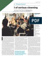 Philippe Gaulier - Reportagem