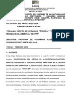 Informe Tecnico Planta de Tratamiento