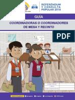 Guía Coordinadores de Mesa y Recinto