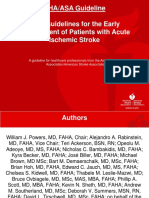 Guideline Acute Ischemic Stroke 2018