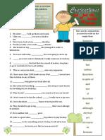 Conjunctions Fun Activities Games Grammar Drills Grammar Guides 28835