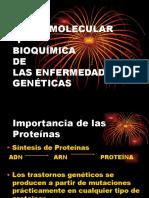 BASES MOLECULARES Y BIOQUIMICA DE LAS ENFERMEDADES GENETICAS.ppt