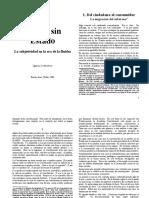 103 - Lewkowicz, Ignacio - Pensar Sin Estado. Cap.1 Del Ciudadano Al Consumidor (1)
