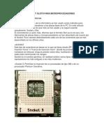 Tipos de Sockets y Slots Para Microprocesadores