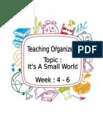 Teaching Organiser 4 6